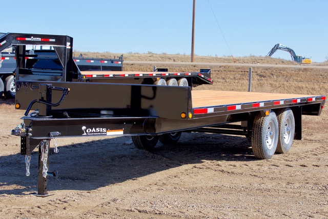 High Boy Bumper Pull Trailers (HBP) – 20000lbs